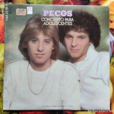 Discos de vinilo: LIQUIDACION LP EN PERFECTO ESTADO - PECOS_CONCIERTO PARA ADOLESCENTES (AÑOS 1979 - 1981). Lote 238637905