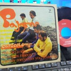 Discos de vinilo: PÁJAROS EP HITCHIN' A RIDE + 2 PUSSY 1970 RAREZA. Lote 238637925