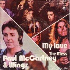 Discos de vinilo: PAUL MCCARTNEY & WINGS* – MY LOVE = MI AMOR. Lote 238648915