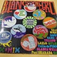 Discos de vinilo: LP BLANCO Y NEGRO HAPPY SONG PEOPLE FROM IBIZA. Lote 238650025