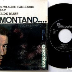 Discos de vinilo: YVES MONTAND - C'EST SI BON +3 - EP DISCOPHON 1964 BPY. Lote 238651610