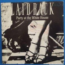 Discos de vinilo: SINGLE / LAID BACK - PARTY AT THE WHITE HOUSE, 1987 PROMO. Lote 238658900