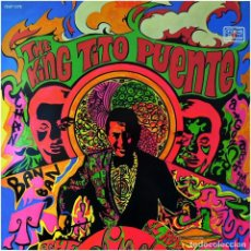 Discos de vinilo: TITO PUENTE AND HIS ORCHESTRA - THE KING TITO PUENTE - LP FRANCE - TICO RECORDS SLP 1172. Lote 238659140