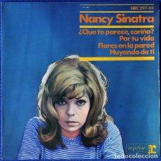 Discos de vinilo: NANCY SINATRA – ¿QUE TE PARECE CARIÑO?. Lote 238660315