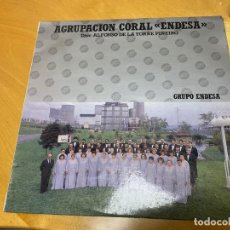 Discos de vinilo: AGRUPACIÓN CORAL ENDESA - LP DE VINILO DIRECTOR - ALFONSO DE LA TORRE PIÑEIRO. Lote 238660950