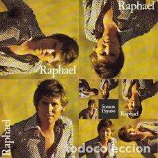 Discos de vinilo: RAPHAEL – SOMOS / PAYASO. Lote 238662280