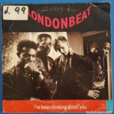 Disques de vinyle: SINGLE / LONDONBEAT - I'VE BEEN THINKING ABOUT YOU, 1990. Lote 238662485