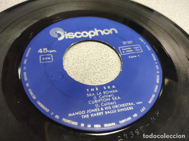 EP THE SKA - MANGO JONES - SKA LA BOMBA / CORUPTION SKA / COFFEE STREET SKA / CHARADE (Música - Discos de Vinilo - EPs - Reggae - Ska)