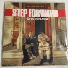 Discos de vinilo: LP STEP FORWARD DEMOS 1989-1990 HARDCORE STRAIGHT EDGE SUECIA REFUSED. Lote 238689380