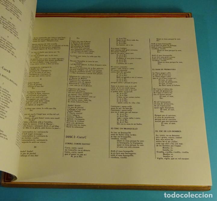 Discos de vinilo: JOAN LLONGUERES. CANÇONS I JOCS DINFANTS. LIBRETO Y DOS LPS EN CAJA - Foto 4 - 238700385