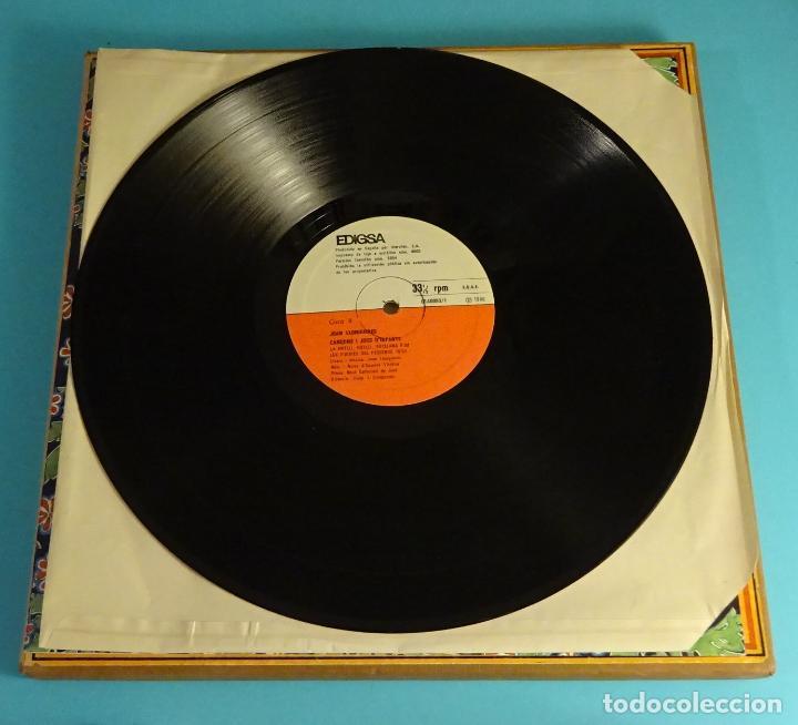 Discos de vinilo: JOAN LLONGUERES. CANÇONS I JOCS DINFANTS. LIBRETO Y DOS LPS EN CAJA - Foto 5 - 238700385
