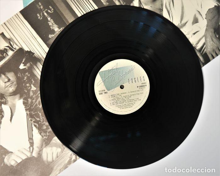 Discos de vinilo: Eagles - Hotel California / Raro y completo primer número JPN en condición de coleccionista - Foto 6 - 238739370