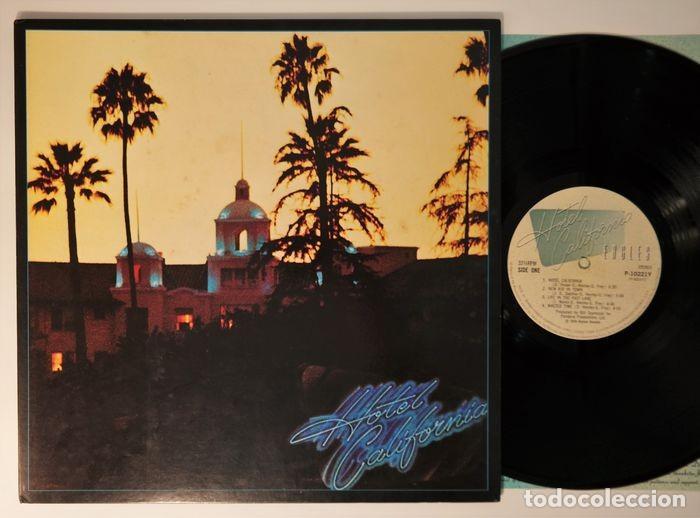 Discos de vinilo: Eagles - Hotel California / Raro y completo primer número JPN en condición de coleccionista - Foto 11 - 238739370