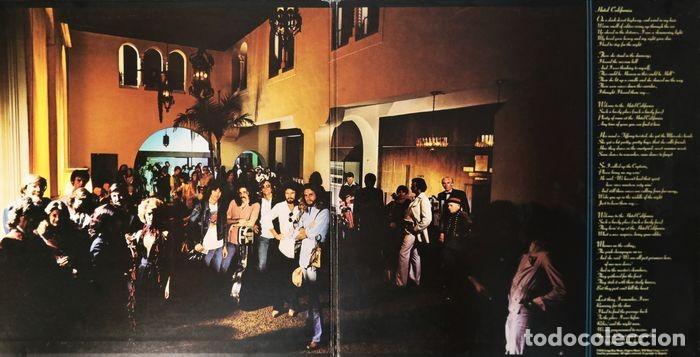 Discos de vinilo: Eagles - Hotel California / Raro y completo primer número JPN en condición de coleccionista - Foto 12 - 238739370