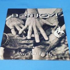 Discos de vinilo: DISCO DE VINILO - BON JOVI - KEEP THE FAITH - 1992. Lote 238757295
