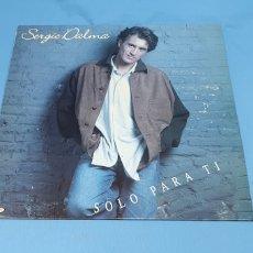 Discos de vinilo: DISCO DE VINILO - SERGIO DALMA - SOLO PARA TI - 1993. Lote 238764500