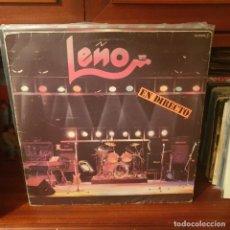 Discos de vinil: LEÑO / EN DIRECTO / CHAPA DISCOS 1981. Lote 238771135