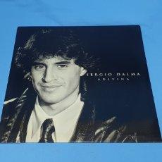 Discos de vinilo: DISCO DE VINILO - SERGIO DALMA - ADIVINA - 1992. Lote 238771390