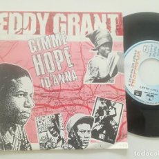 Dischi in vinile: EDDY GRANT - GIMME HOPE JOANNA - SINGLE HISPAVOX 1988. Lote 238775130