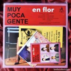 Disques de vinyle: MUY POCA GENTE - EN FLOR 2LP (EL NIÑO GUSANO, LA COSTA BRAVA). Lote 238782995