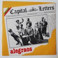 Discos de vinilo: CAPITAL LETTERS- ALEGRAOS - SPAIN SINGLE 1980 - COMO NUEVO.. Lote 238790375