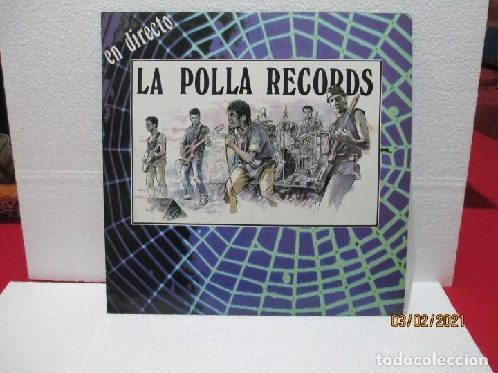 LA POLLA RECORDS – EN DIRECTO (Música - Discos - LP Vinilo - Punk - Hard Core)