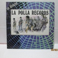 Discos de vinilo: LA POLLA RECORDS – EN DIRECTO. Lote 238801640