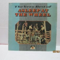 Discos de vinilo: ASLEEP AT THE WHEEL ‎– THE VERY BEST OF. Lote 238803120