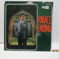 Discos de vinilo: RAFAEL FARINA – RAFAEL FARINA. Lote 238804420