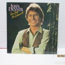 Discos de vinilo: JOHN DENVER – SOME DAYS ARE DIAMONDS. Lote 238804790