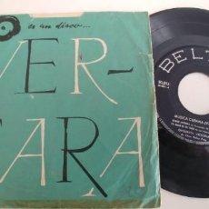 Disques de vinyle: MÚSICA CUBANA VOL II.º-EP CONJUNTO FLORES VALDES-SIN PORTADA. Lote 238806245
