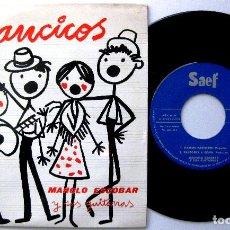 Discos de vinilo: MANOLO ESCOBAR Y SUS GUITARRAS - VILLANCICOS - VAMOS PASTORES +3 - EP SAEF 1959 BPY. Lote 238807010