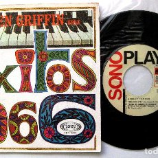 Discos de vinilo: ASHLEY TAPPEN (IN THE KEN GRIFFIN STYLE) - EXITOS 1966 - SPANISH EYES +3 - EP SONOPLAY 1966 BPY. Lote 238811540