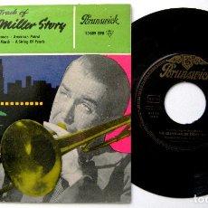 Discos de vinilo: GLENN MILLER - THE GLENN MILLER STORY VOLUME 2 - EP BRUNSWICK 1960 BPY. Lote 238813215