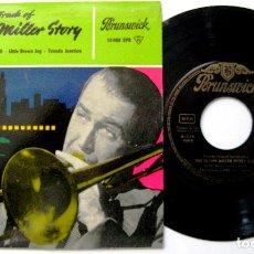 Discos de vinilo: GLENN MILLER - THE GLENN MILLER STORY VOLUME 1 - EP BRUNSWICK 1959 BPY. Lote 238813950