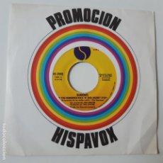 Discos de vinil: RAMONES- DO YOU REMENBER ROCK´N´ROLL RADIO? - PROMO SINGLE 1980 - VINILO EXC. ESTADO.. Lote 238815325
