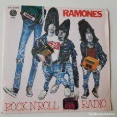 Disques de vinyle: RAMONES- DO YOU REMENBER ROCK´N´ROLL RADIO? - PROMO SINGLE 1980 - VINILO EXC. ESTADO.. Lote 238817840