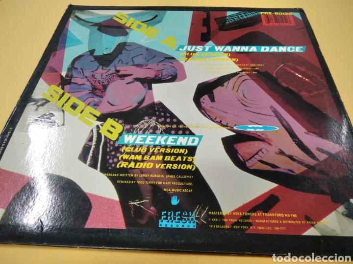 Discos de vinilo: The Todd Terry Project Just Wanna Dance Weekend Lp - Foto 2 - 238819905