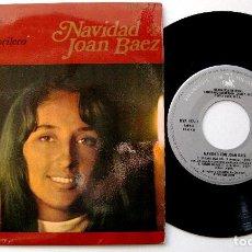 Discos de vinilo: JOAN BAEZ - NAVIDAD CON JOAN BAEZ - EL CANT DELS OCELLS +3 - EP VANGUARD / HISPAVOX 1968 BPY. Lote 238821465