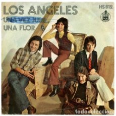 Discos de vinilo: LOS ANGELES – UNA VEZ JURE / UNA FLOR. Lote 238834125