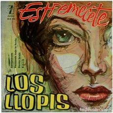 Discos de vinilo: LOS LLOPIS – ESTREMÉCETE. Lote 238839185