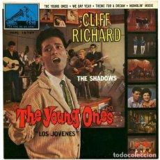 Discos de vinilo: CLIFF RICHARD CON THE SHADOWS* – THE YOUNG ONES = LOS JÓVENES. Lote 238842025
