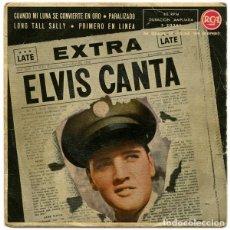 Discos de vinilo: ELVIS PRESLEY – EXTRA ELVIS CANTA. Lote 238850545