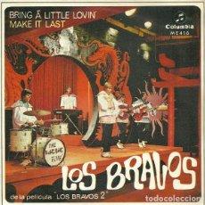 Discos de vinilo: LOS BRAVOS – BRING A LITTLE LOVIN'. Lote 238853355