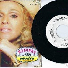 "Discos de vinilo: MADONNA 7"" VINYL SINGLE MUSIC / DROWNED WORLD IN UNIQUE PICTURE SLEEVE. Lote 238854265"