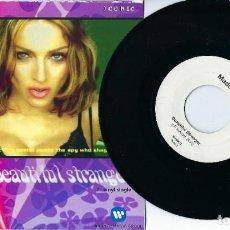 "Discos de vinilo: MADONNA 7"" VINYL SINGLE BEAUTIFUL STRANGER B/W CALDERONE RADIO MIX IN UNIQUE PICTURE SLEEVE. Lote 238854755"