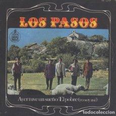 Discos de vinilo: LOS PASOS – AYER TUVE UN SUEÑO. Lote 238857345