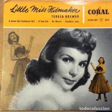 Discos de vinilo: TERESA BREWER – LITTLE MISS HITMAKER. Lote 238858030