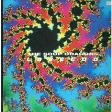 Disques de vinyle: THE SOUP DRAGONS - LOVE GOD - LP 1990. Lote 238869500