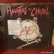 Discos de vinilo: SLAYER / HAUNTING THE CHAPEL / METAL BLADE RECORDS 1987. Lote 238880280